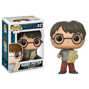 Pop Harry Potter With Marauders Map Vinyl Figure