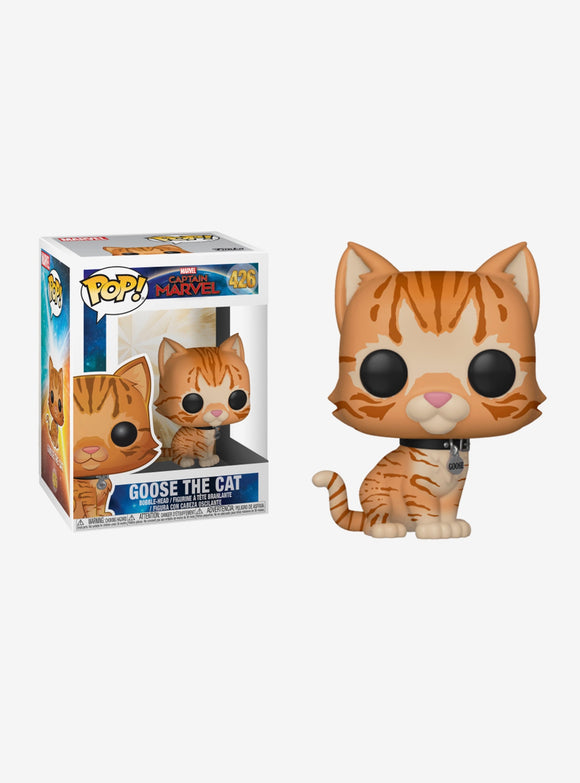 Pop Captain Marvel Goose the Cat Vinyl Figure