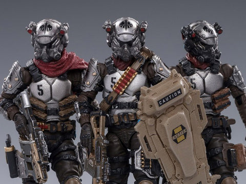 SKELETON FORCES HELL'S FIFTH COMPANY 3 pack Action Figures Action Figures