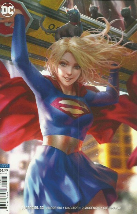 Supergirl (2016) #33 (CARD STOCK VAR ED YOTV DARK GIFTS)