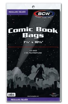Comic Bags - Silver-Age (100 count pack) BCW