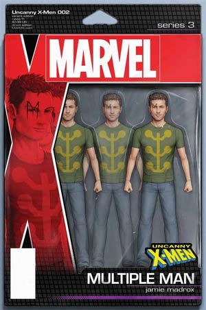 Uncanny X-Men (2018) #2 (CHRISTOPHER ACTION FIGURE VAR)