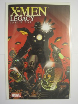 X-Men Legacy (1991) #235 (Iron Man By Design Johnson Variant)