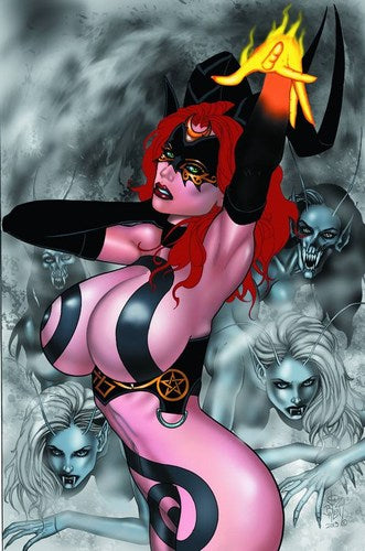 Tarot Witch of the Black Rose (2000) #81 (Tarot Cover)