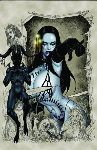 Tarot Witch of the Black Rose (2000) #77