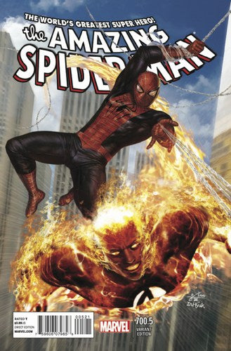 Amazing Spider-Man (1998) #700.5 (In Hyuk Lee Variant)