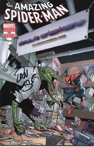 Amazing Spider-Man (1998) #666 (Impulse Creations Variant) (Signed by Dan Slott)
