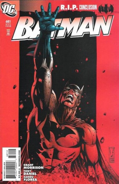 Batman (1940) #681  (2nd Print Variant)