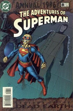 Adventures of Superman Annual (1987) #8