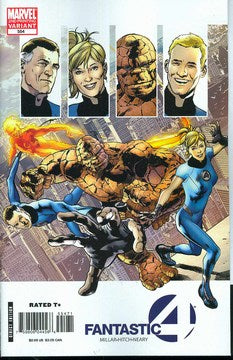 Fantastic Four (1998) #554 (2nd Print Hitch Variant)