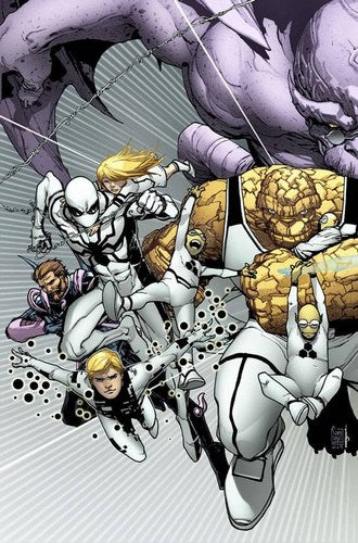 Fantastic Four (1998) #601 (Connecting Variant)