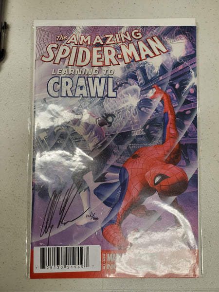 Amazing Spider-Man (2014) #1.4 (DF Signed Alex Ross Variant)