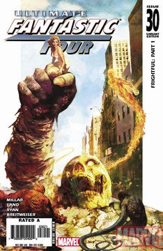 Ultimate Fantastic Four (2003) #30  (Suydam Zombie Variant)