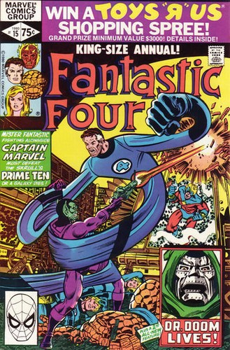 Fantastic Four (1961) Annual #15
