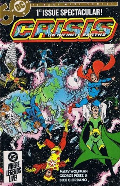 Crisis on Infinite Earths (1985) #1