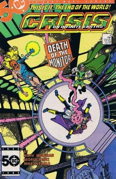 Crisis on Infinite Earths (1985) #4
