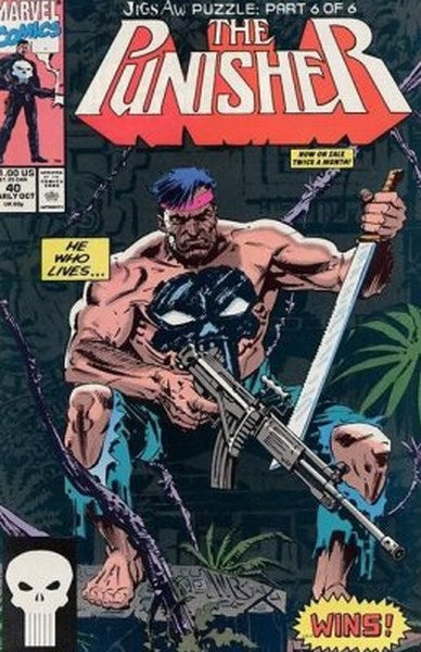 Punisher (1987) #40