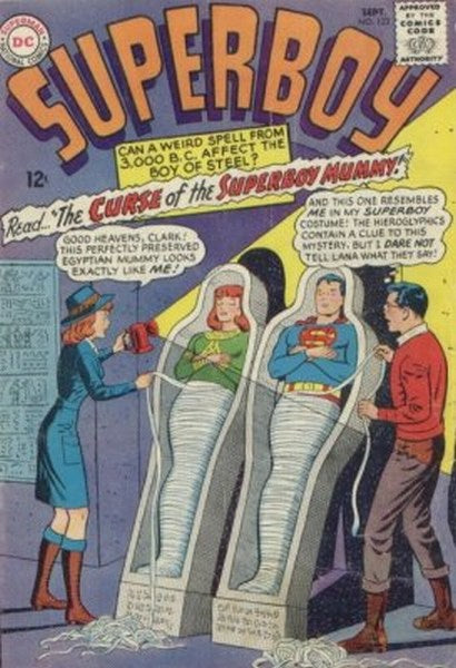 Superboy (1949) #123 coverless