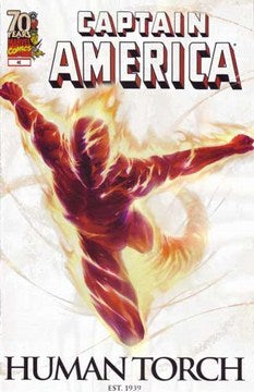 Captain America (2004) #46 (Marvel's 70th Annversary Variant)