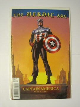 Captain America (2004) #606 (Heroic Age Variant)