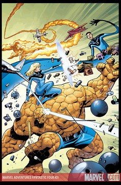 Marvel Adventures: Fantastic Four (2005) #31