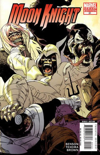 Moon Knight (2006) #21 (Monkey Variant)