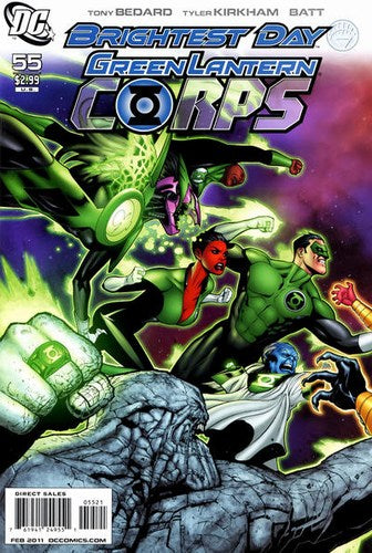 Green Lantern Corps (2006) #55 (Variant Edition)