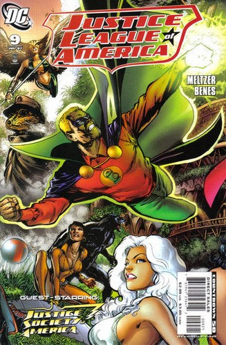 Justice League of America (2006) #9 (Variant Edition)