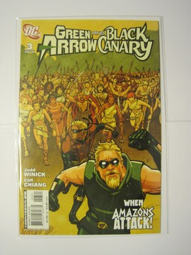 Green Arrow/Black Canary (2007) #3 (Variant Edition)
