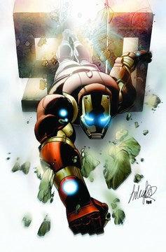 Invincible Iron Man (2008) #500 (2nd Print Larroca Variant)