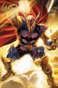 Secret Invasion: Thor (2008) #1 (2nd Print Brathwaite Variant)