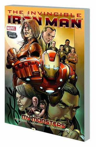 Invincible Iron Man Volume 7: My Monsters TP