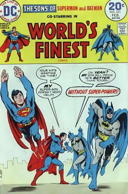 World's Finest Comics (1941) #221