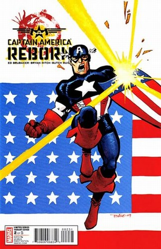 Captain Amerca Reborn (2009) #2 (Tim Sale Variant)