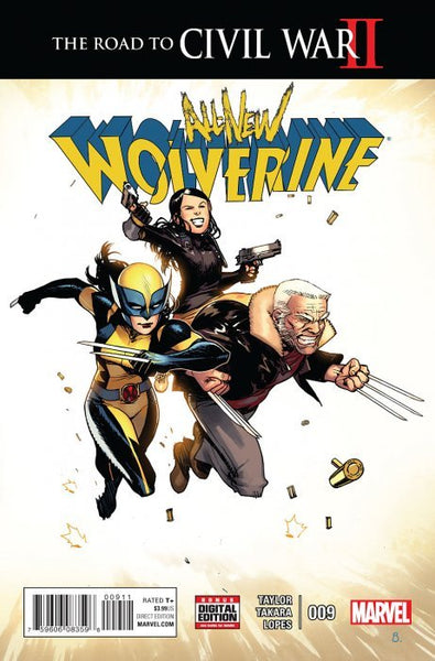 All New Wolverine (2015) #9