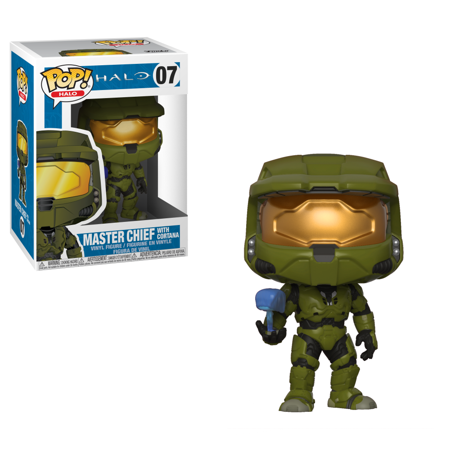 Pop Halo Master Chief With Cortana Vinyl Figure