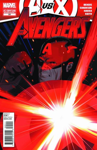 Avengers (2010) #25 (2nd Print Acuna Variant)
