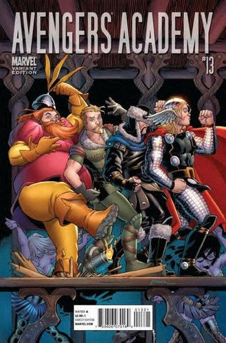 Avengers Academy (2010) #13 (Thor Goes To Hollywood Variant)