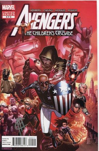 Avengers: Childrens Crusade (2010) #9 (Signed by Jim Cheung)