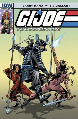 GI Joe: A Real American Hero (2010) #206
