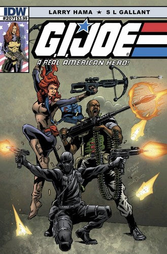 GI Joe: A Real American Hero (2010) #207