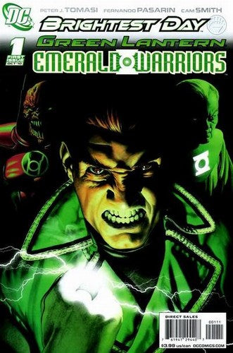 Green Lantern: Emerald Warriors (2010) #1