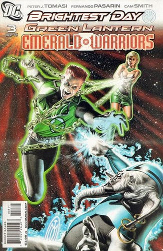 Green Lantern: Emerald Warriors (2010) #3
