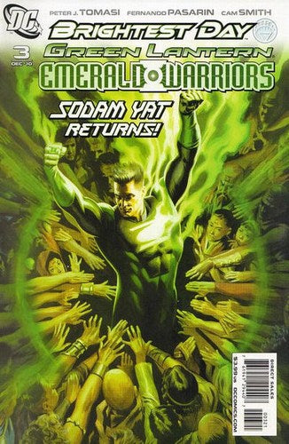 Green Lantern: Emerald Warriors (2010) #3 (Variant Edition)
