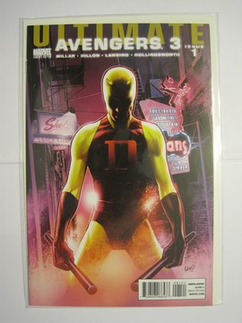 Ultimate Comics: Avengers 3 (2010) #1 (Villain Variant)