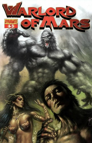 Warlord of Mars (2010) #5 (Parrillo Cover)
