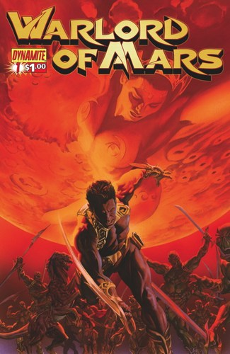Warlord of Mars (2010) #1 (Ross Cover)