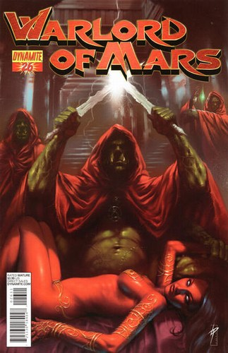 Warlord of Mars (2010) #26 (Parrillo Cover)