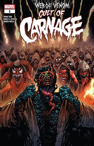 WEB OF VENOM CULT OF CARNAGE #1