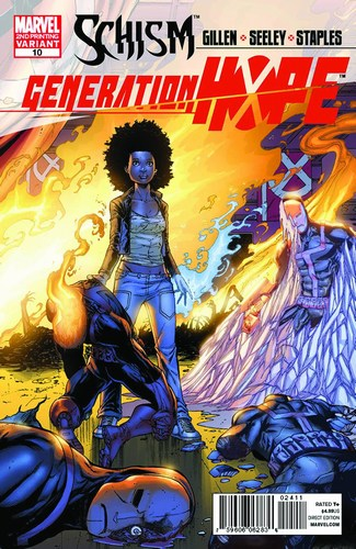 Generation Hope (2010) #10 (2nd Print Espin Variant)